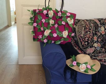 Hat and bag can be sold separeatly.