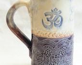 Om mug 20oz ceramic coffee mug 20D053