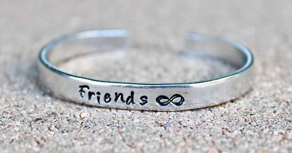 Best Friends Cuff Bracelet, Friends Forever Bracelet, Friends are forever, BFF, Best Friends Bracelet, Best friends, Friends Forever Jewelry