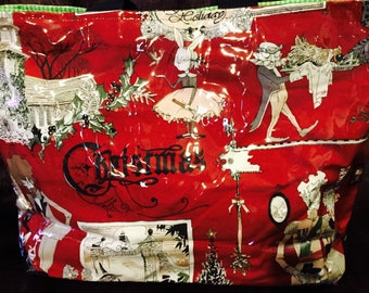 Ghastlie Family Christmas Tote/Diaper Bag