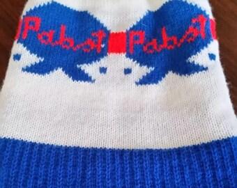 Pabst Blue Ribbon Vintage Winter Beanie