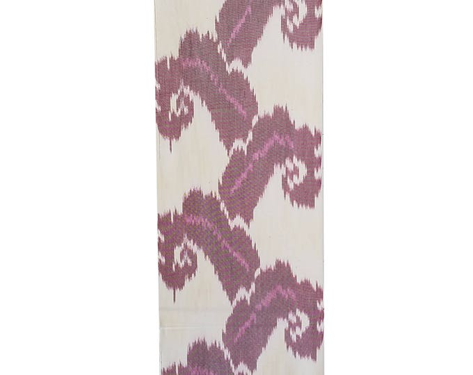 Sale! Ikat Fabric, Ikat Fabric by the yard, Hand Woven Fabric, Cf112
