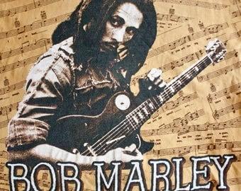 90s Bob Marley shirt - Vintage reggae tshirt - 50th Anniversary t-shirt