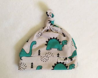Dinosaur Knotted Baby Hat