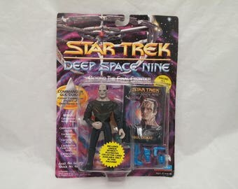 Star Trek Deep Space Nine Commander GUL DUKAT Action Figure - New in Box - NIB - Beyond The Final Frontier Series