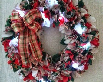 Lighted Christmas Wreath, Lighted Wreath, Lighted Wall Art, Christmas Wreath with Lights, Christmas Front Door Wreath, Christmas Door Wreath