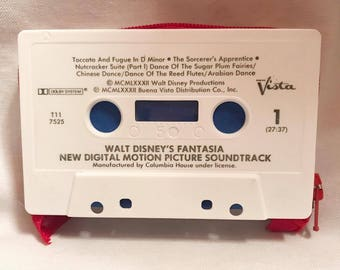 Fantasia Cassette Tape Wallet