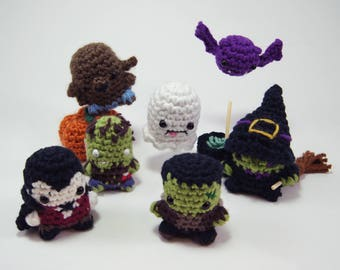 Halloween Classic Creatures and Monsters PDF Crochet Patterns Bundles