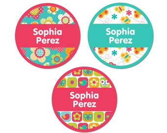 Iron-On Labels (2 Sizes), All Things Spring