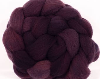 Hand dyed top for spinning - Summit - (5 oz.) Charollais