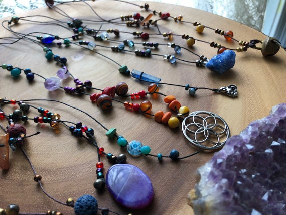 MY YEAR custom transformation necklace you help design your own necklace based on your goals for 2018