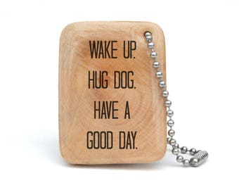 Gift for Dog Lover, Personalized Keychain for Dog Lover