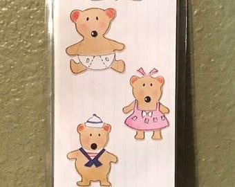 Baby Bears Set Sizzlits by Sizzix - New 655424
