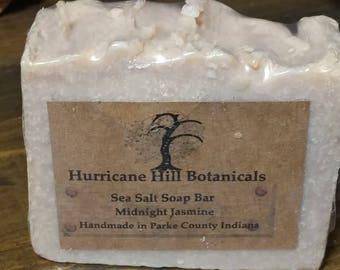 Midnight Jasmine Sea Salt Soap