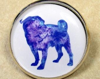 Pug Pin, Pug Brooch, Pug Jewelry, Pug Mom Gifts, Pug Lover Gifts, Pug Gifts, Gifts with Pug, Jewelry with Pug, Brooch with Pug