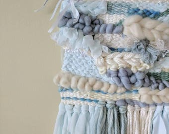 Custom - Wedding Dress Art - woven textile - weave - wall hanging