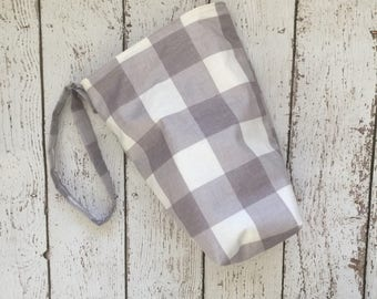 SALE car Trash bag with LINER, use with lunch bag for easy quick empty and no mess