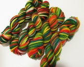 Sock yarn minis Collection Christmas , 4 minis, 100 yes