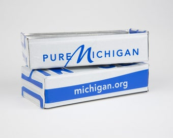 Michigan license plate box - father's day gift - gift for mom's dad's and grad's - teacher gift - graduation gift - graduation gift box