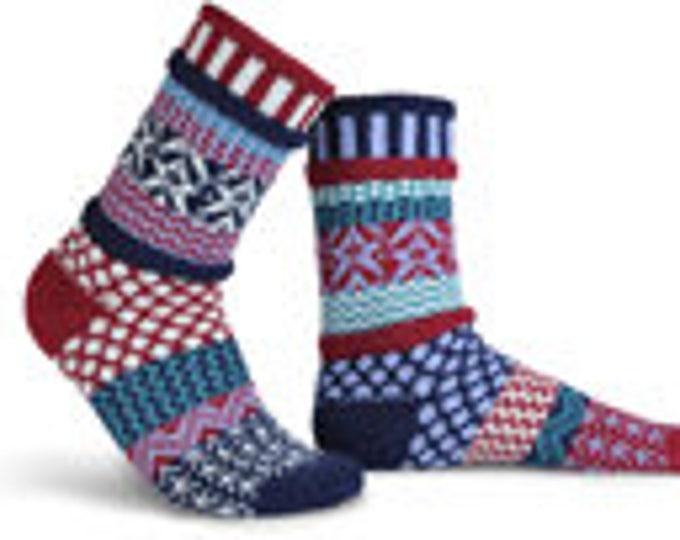 Solmate Socks - Stars and Stripes Crew