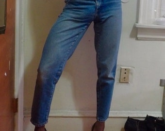 1990s vintage Benetton high waisted jeans
