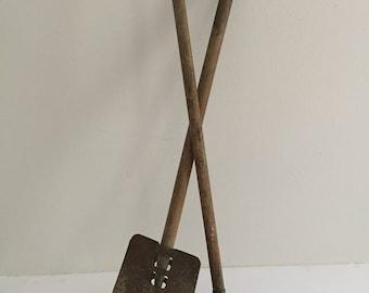 Vintage Child's Gardening Tools Hoe and Shovel
