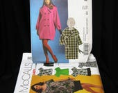Lot of 11 patterns, sizes 18 and up, NOS liquidation, McCall's 5939, 5764, 5863, 5145, 5864, 5589, 5622, 5763, 8107, 5673 and 5437, bargain