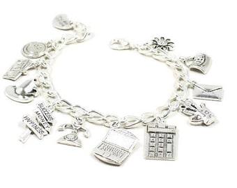Secretary Bracelet  Administrative Assistant Bracelet  Office Worker Bracelet  Co Worker Gift Admin Gift Ladies Gift Office Worker B183