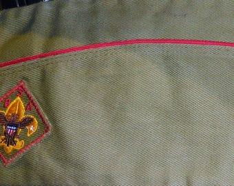 Extra Extra  Large Boy Scout Garrison Cap  7 5/8 - 7 3/4  Big Man In Scouting  Ships  Free