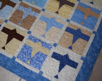 Airplane lap quilt
