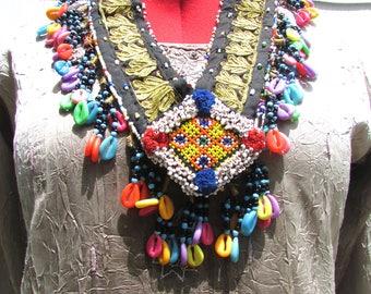 Kuchi Tribal Fusion Necklace