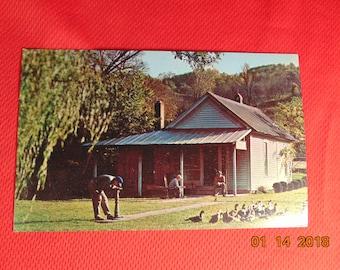 One (1), Vintage Post Card of Jack Daniel's Old Office, in Lynchburg, Tenn