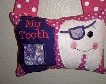 Tooth Fairy Pillow Pirate