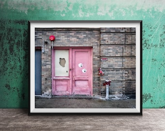 Super Mario Ghost Door - Nintendo Street Art - Photography Print photo