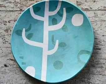 ON SALE ** Ceramic Serving Plate