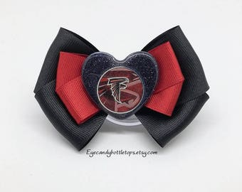 Falcons Hair Bow