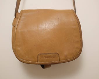 Vintage Leather JIL SANDER shoulder bag