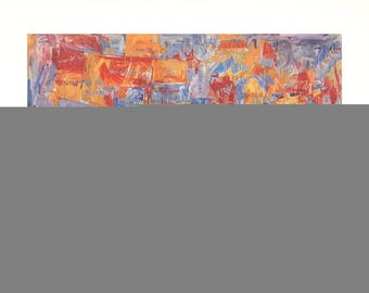 Jasper Johns-Map-1980 Poster