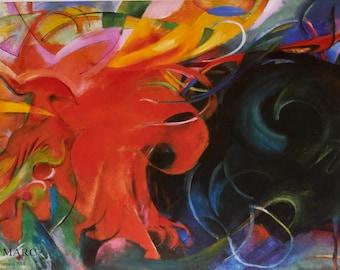Franz Marc-Constellation-1995 Poster