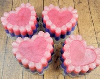 SPELLBOUND glycerin soap/vegan soap/soap bars/bar soap/handmade soap/specialty soap/natural soap/luxury soap/essential oil soap