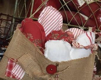 Heart Trio Basket