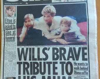 THE SUN  Two Newspapers September 2 - 3 1997