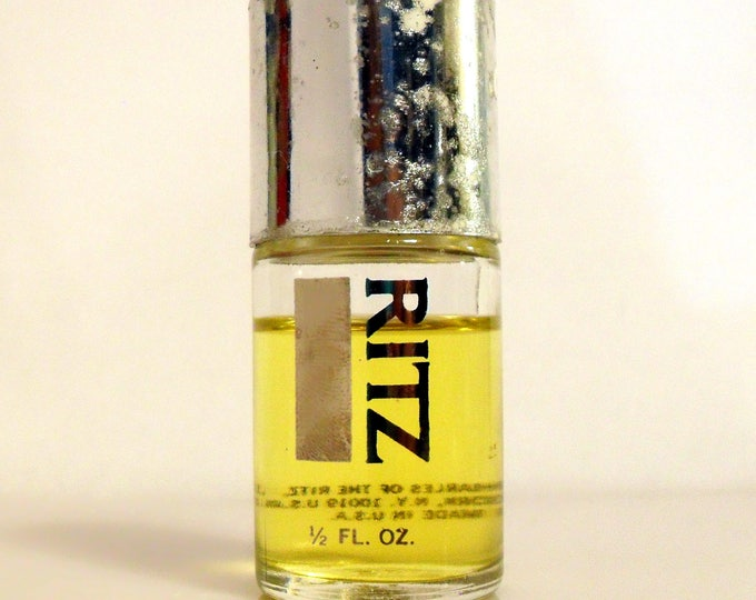 Vintage 1970s Ritz by Charles of the Ritz 0.5 oz Eau de Parfum Splash DISCONTINUED PERFUME