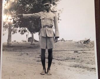 WWll Native Policeman