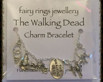 The Walking Dead inspired Charm Bracelet