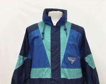 90s Festival Windbreaker Jacket