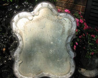 darling vintage venition glass mirror