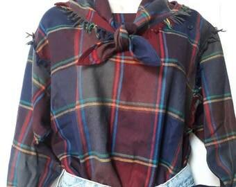 Vintage wool blouse