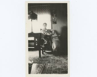 "Vintage Snapshot Photo: ""Mrs. Rose Higgins"" c1910s (75583)"