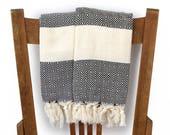 Küche Hand Handtuch Baumwolle türkische Handtuch handgewebte Baumwolle Badezimmer Handtuch Gesicht Handtuch Geschirrtuch Gast Handtuch Spa Handtuch schwarz PESHKIR Diamanten